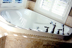 Corner Soaker Tub Tile